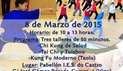 Tai Chi, Chi Kung y Kung Fu. Jornada de puertas abiertas en Vigo.