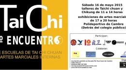 2015 05 III Encuentro de escuelas de tai chi